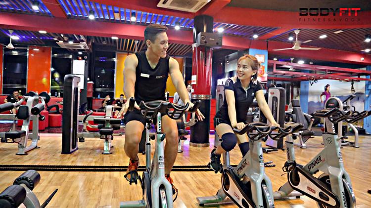 Phòng tập gym Tân Bình